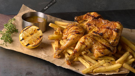 Grilled Roasted Chicken