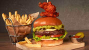 Big af Buffalo Wingman Burger
